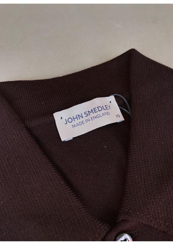英国製JOHN SMEDLEY ISIS EASY FIT 半袖ポロシャツ