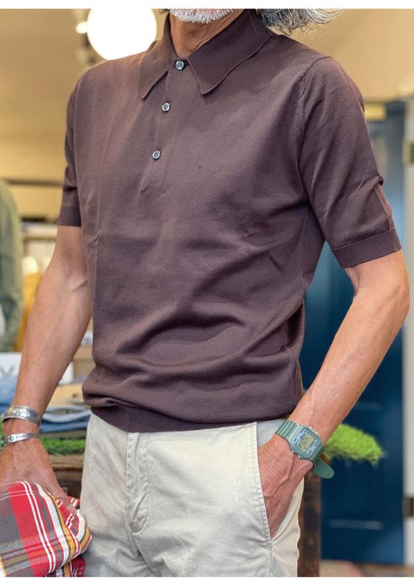 JHONSMEDLEY ISIS Seaisland Cotton Polo Shirt