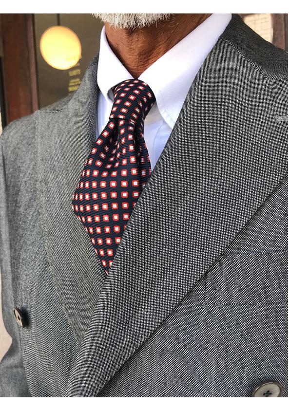 AVINO 4Hand-Sewn Cotton Twill ButtonDownShirt