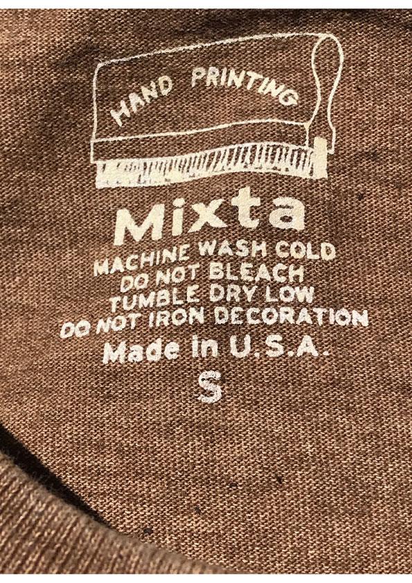 Reservation start! Until September 14 ! 2021 S/S MIXTA Tshirt