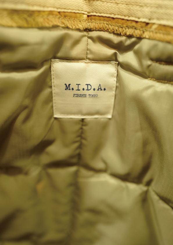 M.I.D.A 御予約開始 8月31日まで 2019年S/S HELMET BAG