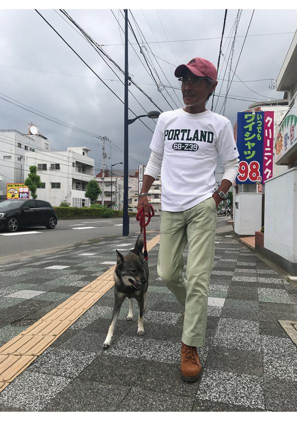 CHAMPION 2018年 T1011 プリントTシャツ