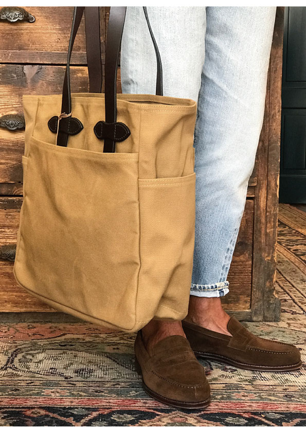 FILSON Rugged Twill TOTE BAG WITHOUT ZIPPER