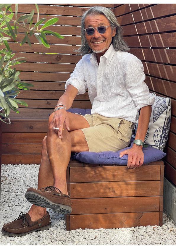 Le meilleur THOMAS MASON White Seersucker Button down Shirt