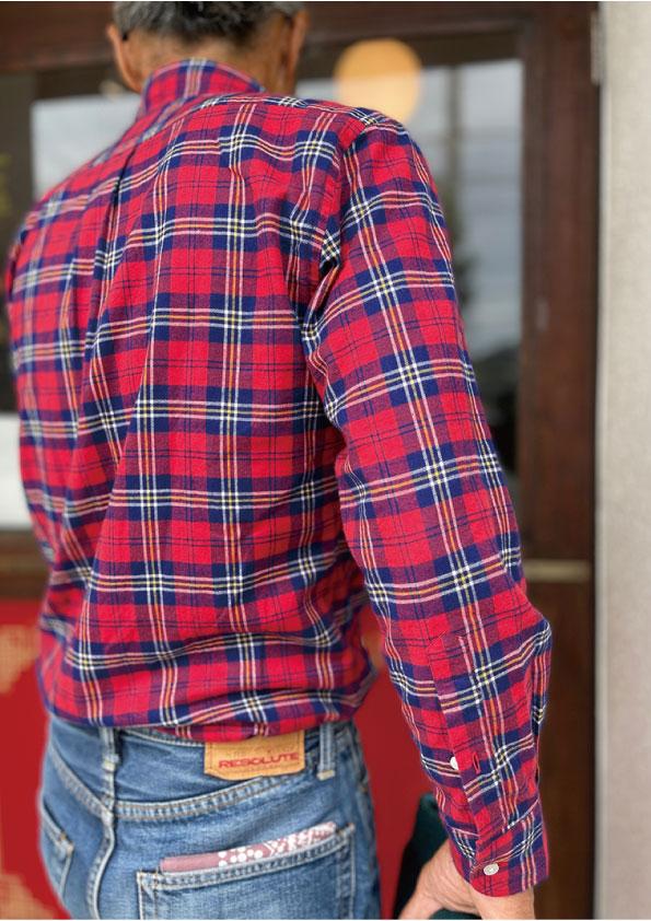 Le meilleur THOMAS MASON Red Check Button down Shirt